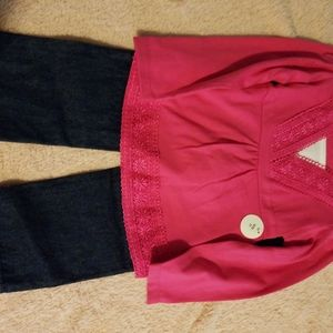 Kidget two piece outfit, new with tags